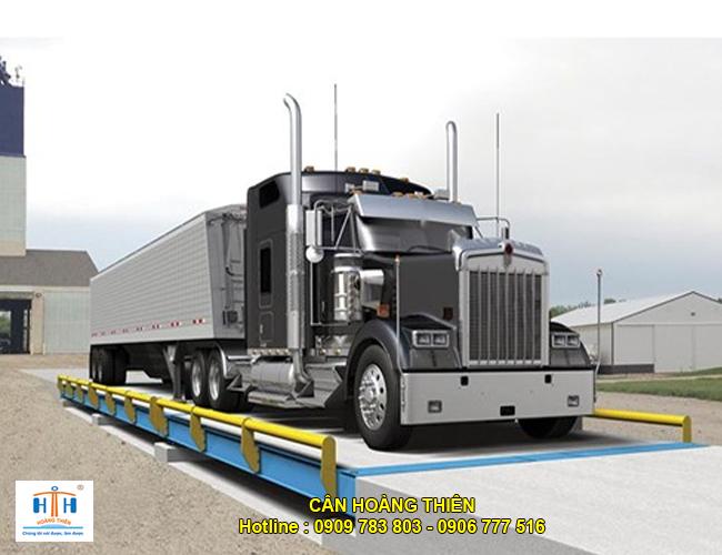 trạm cân xe tải kiểu nổi 40 tấn